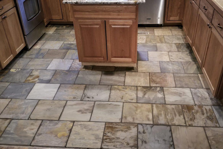 Slate Tile Kitchen Flooring Hayven Homes